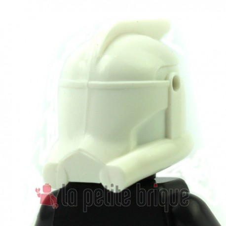 Lego Custom Star Wars CLONE ARMY CUSTOMS Casque Arc (blanc) (La Petite Brique)