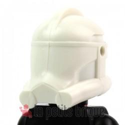 Lego Custom Star Wars CLONE ARMY CUSTOMS Casque Clone Phase 2 (blanc) (La Petite Brique)