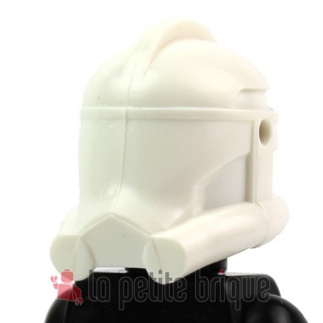 Lego Custom Star Wars CLONE ARMY CUSTOMS Casque Clone Phase 2 (blanc) (La Petite Brique)