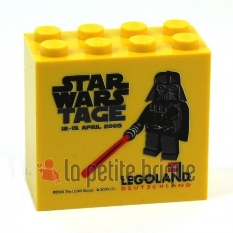 LEGO Collector Star Wars Darth Vader Avril 2009 Brique 2 x 4 x 3 Legoland (La Petite Brique)