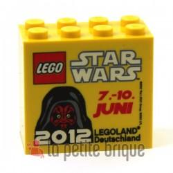 LEGO Collector Star Wars Darth Maul Juin 2012 Brique 2 x 4 x 3 Legoland (La Petite Brique)