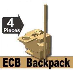 Lego Si-Dan Toys ECB Backpack (beige foncé) (La Petite Brique)