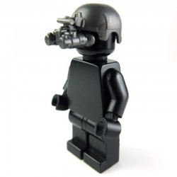 Lego Si-Dan Toys Casque IBH + Night Vision (ANVIS-9) (Iron black) (La Petite Brique)