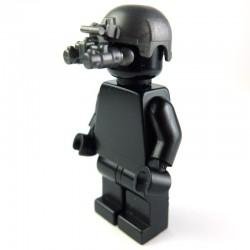 Lego Si-Dan Toys Casque IBH + Night Vision (ANVIS-9) (Iron black) (La Petite Brique)