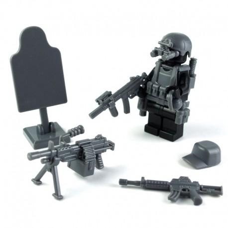 Lego Si-Dan Toys Navy Seals Pack (12 pièces) (Dark Bluish Gray) (La Petite Brique)