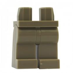 Lego Minifig Accessoires Jambes - beige foncé (La Petite Brique)