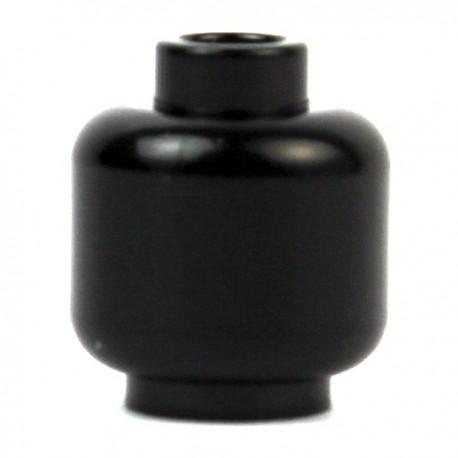 Lego Minifig Accessoires Tête noire (La Petite Brique)