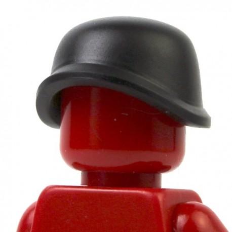 Lego Minifig Accessoires Casque militaire (noir) (La Petite Brique)