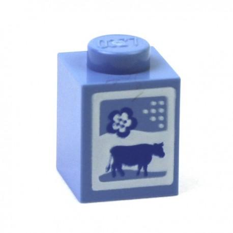 Lego Minifig Accessoires Brique de Lait 1 x 1 (La Petite Brique)