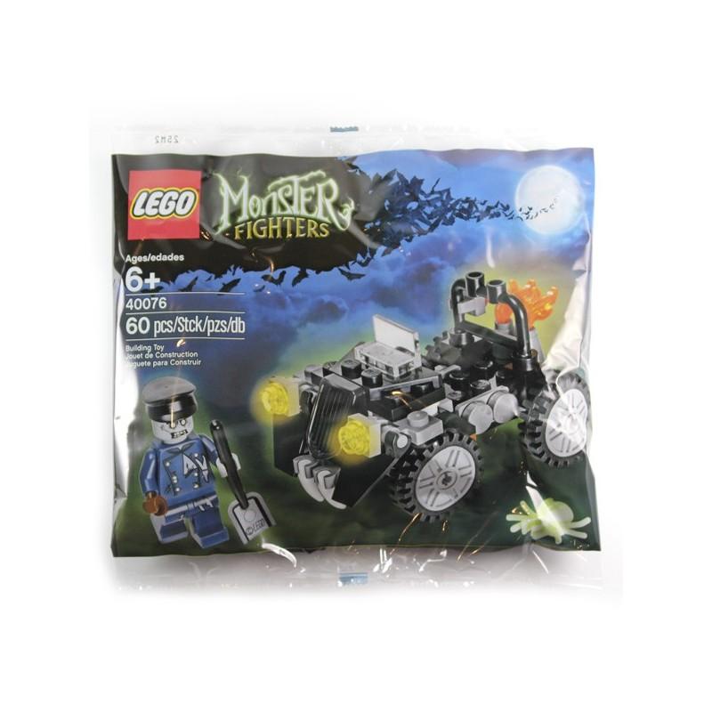lego polybag monster fighters le zombie et sa voiture la petite brique - Zombie Voiture