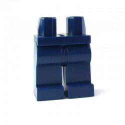 Lego Minifig Accessoires Jambes - bleu foncé (La Petite Brique)