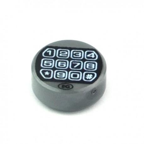 Lego Custom Minifig Accessoires Security System - Key Pad (La Petite Brique)
