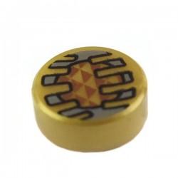 Lego Accessoires Electronic Eye - Tile, rond 1 x 1 (La Petite Brique)