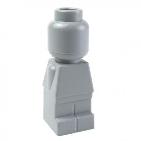 Lego Accessoires Statuette Microfig (Light Bluish Gray) (La Petite Brique)
