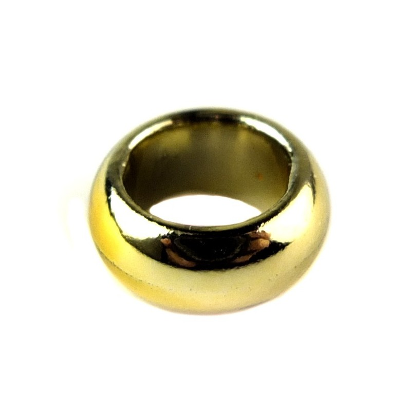 Lego X10 New Chrome Gold Ring 1x1 Utensil Accessory From Lord Of The Rings