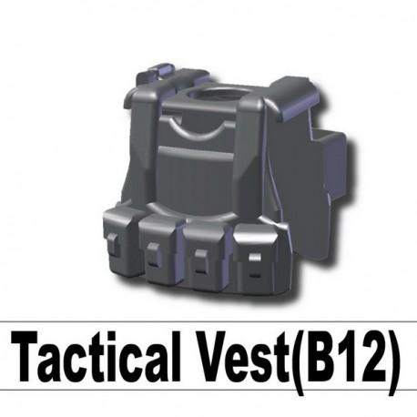 Lego Custom Si-Dan - Tactical Vest B12 (Iron Black) La Petite Brique