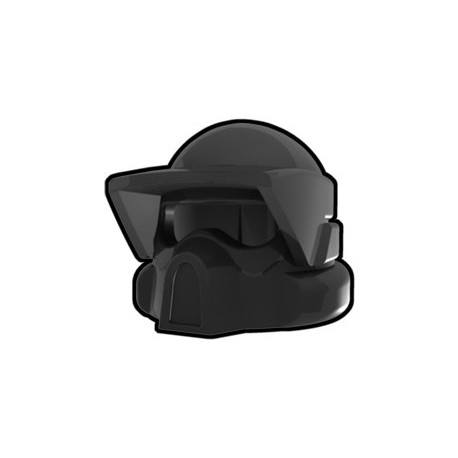 Lego Minifig Custom AREALIGHT Black ARF Helmet (La Petite Brique) Star Wars
