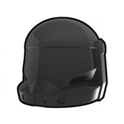 Lego Minifig Custom AREALIGHT Black Commando Helmet (La Petite Brique) Star Wars