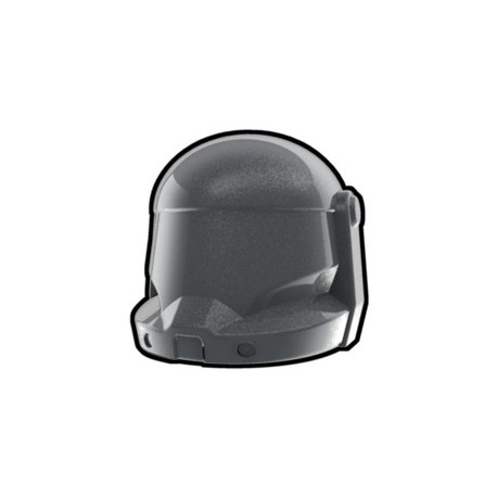 Lego Minifig Custom AREALIGHT Commando Helmet (silver) (La Petite Brique) Star Wars