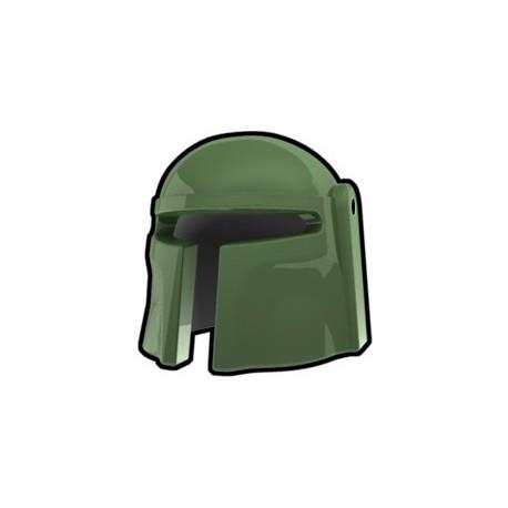 Lego Minifig Custom AREALIGHT Mando Helmet (Sand Green) (La Petite Brique) Star Wars