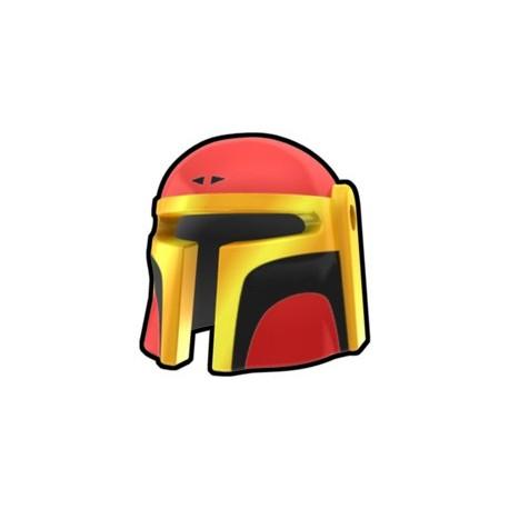 Lego Minifig Custom AREALIGHT Red Mando Dred Helmet (La Petite Brique) Star Wars