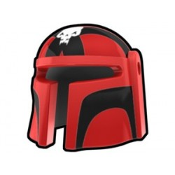 Red Mando Ghes Helmet
