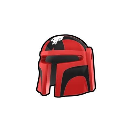 Lego Minifig Custom AREALIGHT Red Mando Ghes Helmet (La Petite Brique) Star Wars