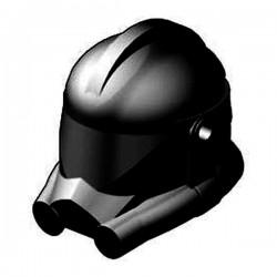 LEGO Custom Star Wars CLONE ARMY CUSTOMS Casque Clone Phase 2 (noir) (La Petite Brique)
