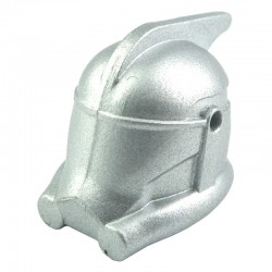 Lego Custom CLONE ARMY CUSTOMS Casque Arc (Metallic Silver) La Petite Brique