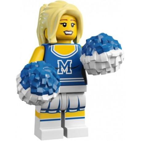 Lego Minifigure Série 1 Pom Pom Girl Minifig