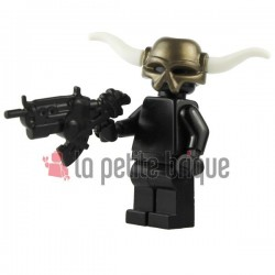 Lego Custom BRICK WARRIORS Cornes tribales (blanc) La Petite Brique