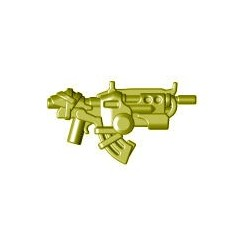 Lego Custom BRICK WARRIORS Fusil d'attaque Ground Dweller (Pearl Gold) La Petite Brique