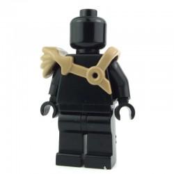 LEGO Brick Warriors Custom - Epaulette de Gladiateur (beige foncée) (La Petite Brique)