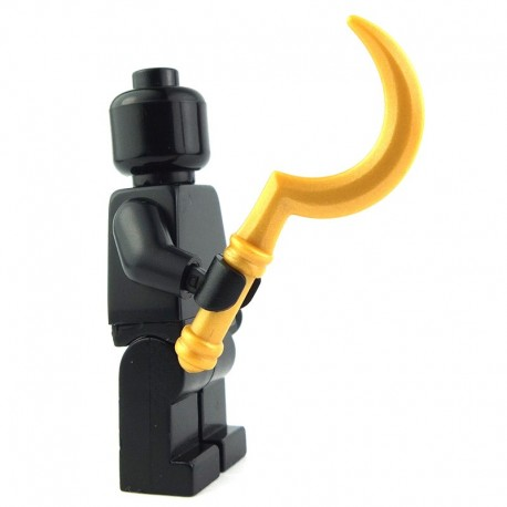 Lego Custom BRICK WARRIORS War Hook (Pearl Gold) La Petite Brique
