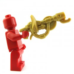Lego Custom BRICK WARRIORS Fire Breather (Pearl Gold) La Petite Brique