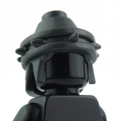 Lego Custom BRICK WARRIORS Casque Sea People (charcoal) La Petite Brique