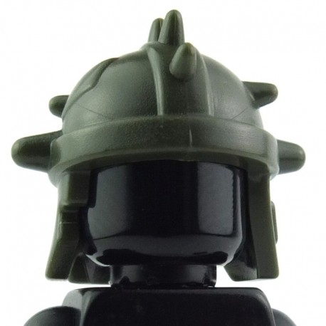 Lego Custom BRICK WARRIORS Casque Goblin (Army Green) La Petite Brique