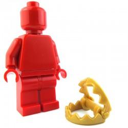Lego Custom BRICK WARRIORS Piège à Loup (Pearl Gold) La Petite Brique