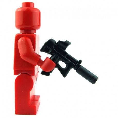 Lego Custom BRICK WARRIORS Pistolet mitrailleur Forces Speciales (noir) La Petite Brique