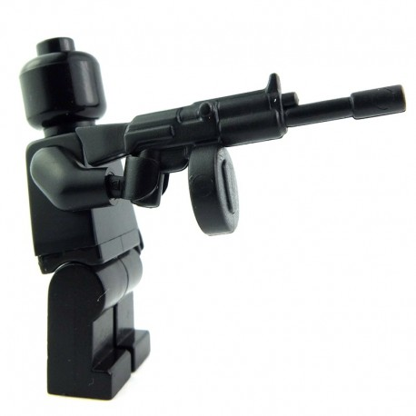 Lego Custom BRICK WARRIORS Terrorizer MG (noir) La Petite Brique