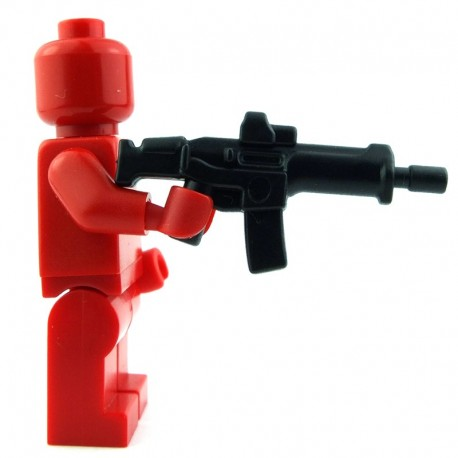 Lego Custom BRICK WARRIORS Fusil de guerrier (noir) La Petite Brique