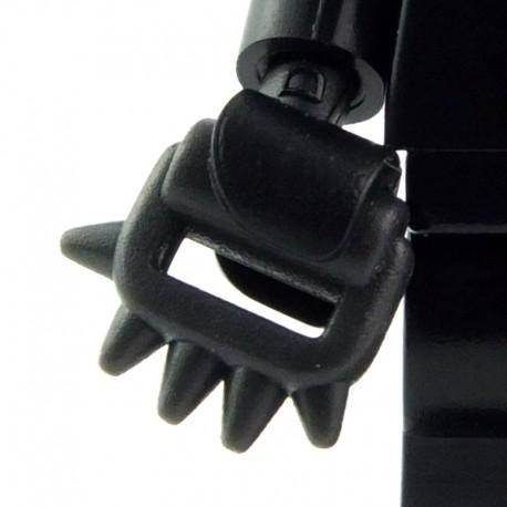Lego Custom BRICK WARRIORS Poing américain / Cestus (charcoal) La Petite Brique