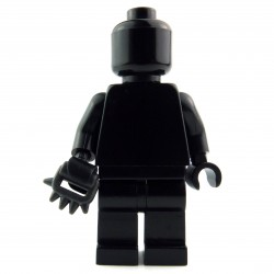 Lego Custom BRICK WARRIORS Poing américain / Cestus (charcoal) La Petite Brique