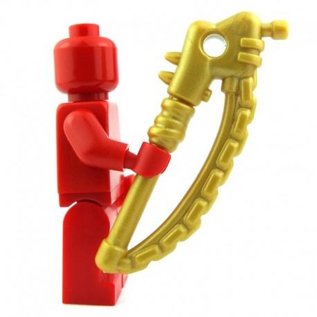 Lego Custom BRICK WARRIORS Apoc Basher (Pearl Gold) La Petite Brique