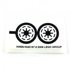 Lego Accessoires Autocollant Clone Star Wars (La Petite Brique)