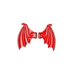 Lego Custom BRICK WARRIORS Ailes de Dragon (Rouge foncé) La Petite Brique