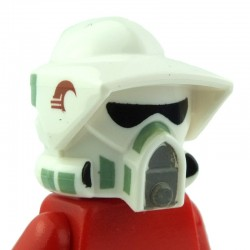 Minifig, Headgear Helmet SW ARF Trooper Pattern