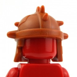 Lego Custom BRICK WARRIORS Casque Goblin (Burnt Orange) La Petite Brique