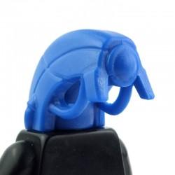 Lego Custom BRICK WARRIORS Tête Android (bleu) La Petite Brique