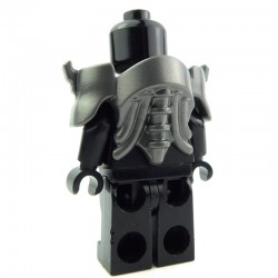 Lego Custom BRICK WARRIORS Armure Android (steel) La Petite Brique